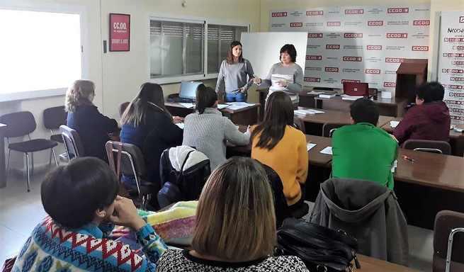 Comisiones Obreras de Castilla-La Mancha comienza una ronda de asmbleas informativas sobre la negociación del VIII Convenio estatal de la Dependencia