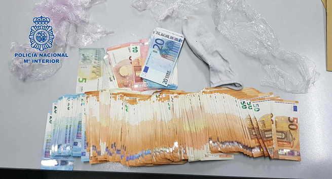Desarticulado un grupo delictivo que distribuía cocaína en Talavera de la Reina, Cáceres y Ávila