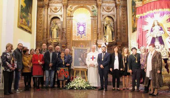 La Hermandad de Jesús Nazareno protagonista en el cartel de la Semana Santa de Alcázar de San Juan 2019