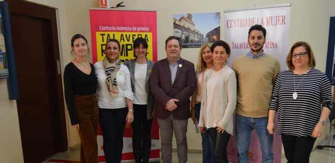 'Talavera rompe el silencio' finaliza en el Centro de la Mujer, la campaña de sensibilización contra la violencia de género