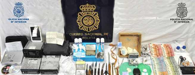 Detenidas dos personas en Puertollano como presuntas autoras de los delitos de tráfico de drogas y receptación