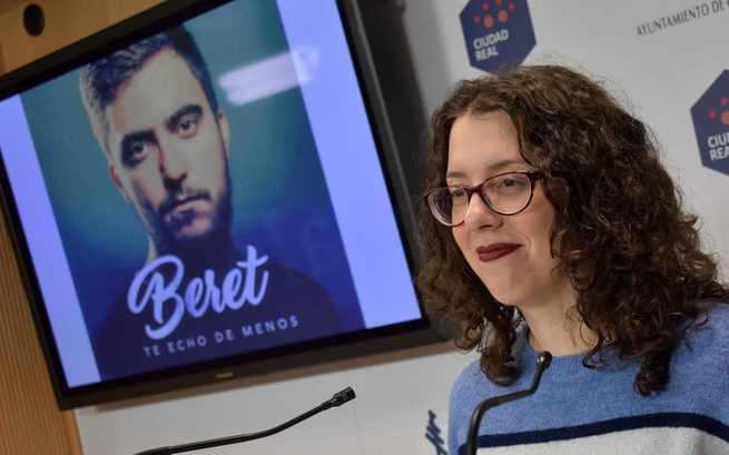 Beret ofrecerá un concierto en Ciudad Real el próximo 15 de junio en el Auditorio de La Granja
