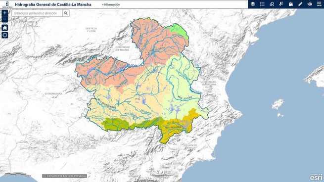 El Gobierno de Castilla-La Mancha presenta el 'Portal de Mapas de Castilla-La Mancha' que aglutina toda la producción cartográfica del territorio para profesionales y ciudadanos