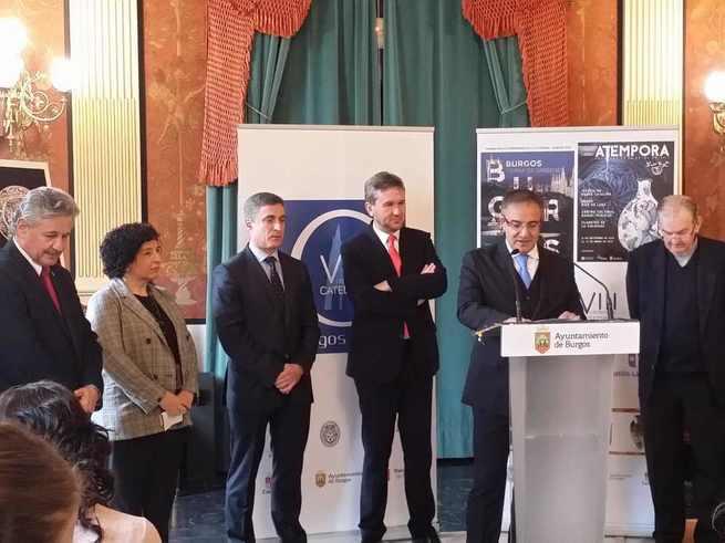 El Gobierno de Castilla-La Mancha colabora con el VIII Centenario de la Catedral de Burgos con 'aTempora' tras superar las 100.000 visitas en Talavera de la Reina