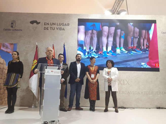 Presentado el 24º Quixote Maratón de Castilla-La Mancha en FITUR 2019, claro exponente de la oferta de turismo deportivo de Ciudad Real
