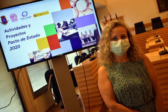 Igualdad llevará a cabo 8 proyectos dentro del  Pacto de Estado contra la Violencia de Género en Ciudad Real