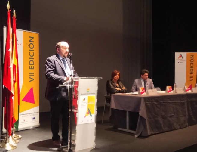El presidente de AJE Ciudad Real representó a los jóvenes empresarios españoles en los sellos Alcorcón Concilia