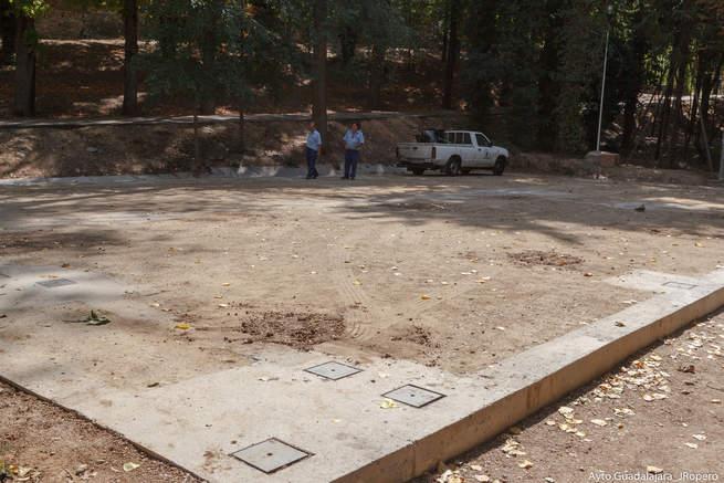 imagen de Comienzan los trabajos previos a la instalación de los corrales de los encierros de Guadalajara