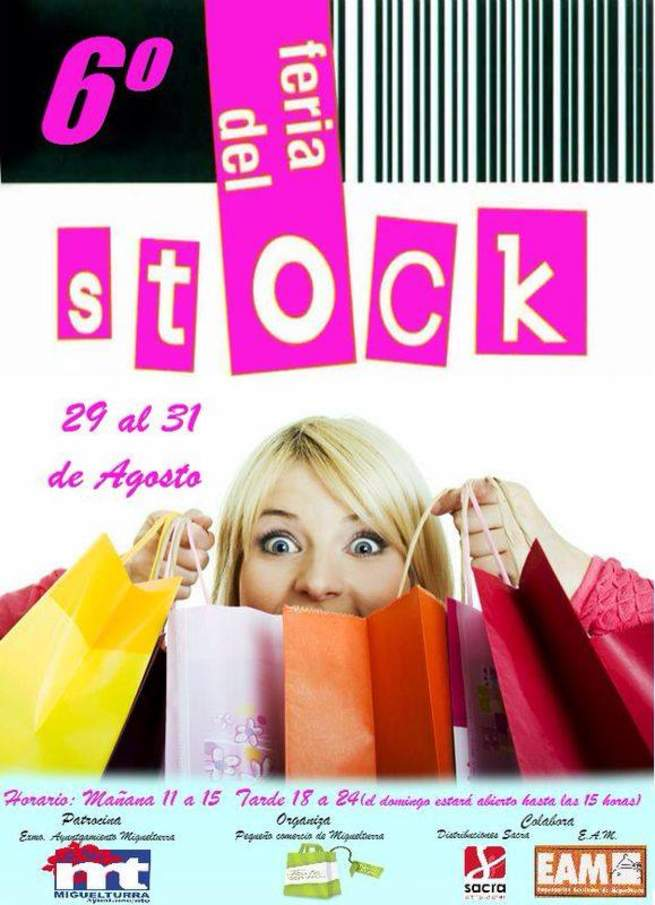 imagen de Miguelturra celebra la próxima semana la feria del stock del pequeño comercio