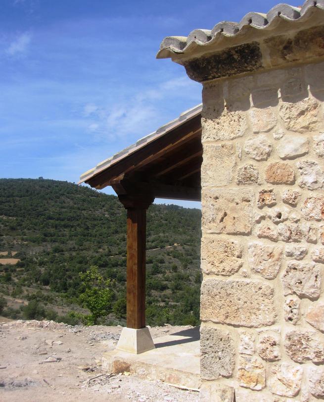 Ermita de San Roque tras su renovación