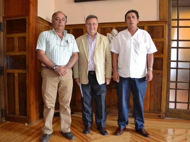 García-Tizón recibe al alcalde de Palomeque