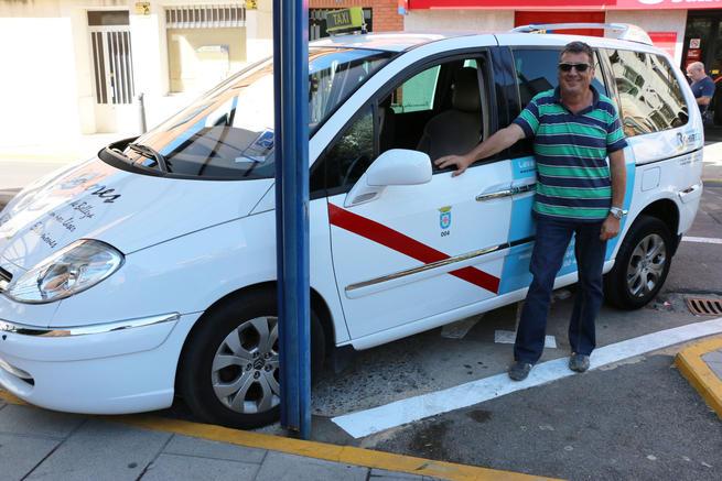 Sansebrín posee el único taxi adaptado de la localidad