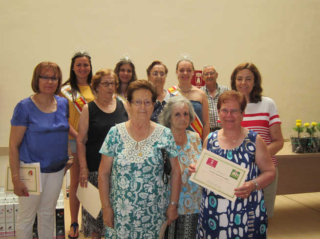 imagen de Los mayores también disfrutan de sus actos en las fiestas de Villacañas