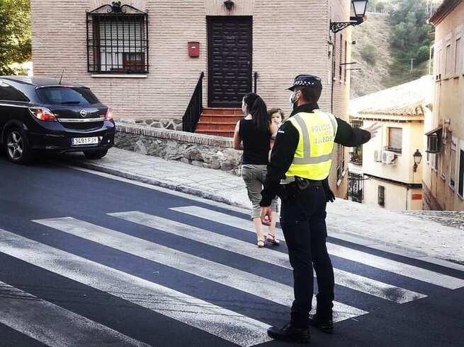 La Policía Local interpone un total de 59 denuncias en Toledo durante el fin de semana