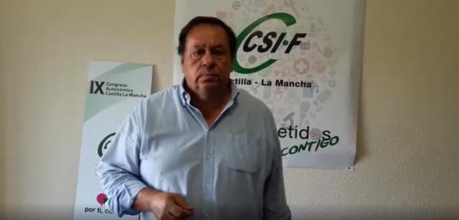 """CSIF: """"Page debe dar la cara y pronunciarse sobre la congelación del salario de los empleados públicos"""""""
