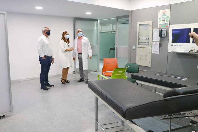 El Área de Urgencias del Hospital de Hellín estará disponible a finales de septiembre