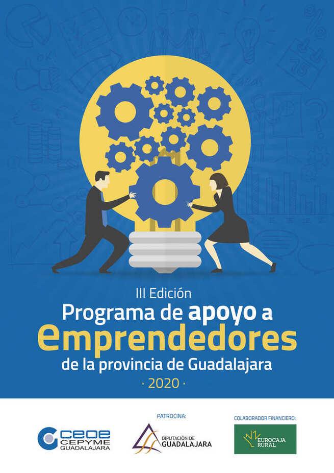 El programa de apoyo a emprendedores de la provincia de Guadalajara de CEOE continúa con la celebración de sus dos talleres colectivos