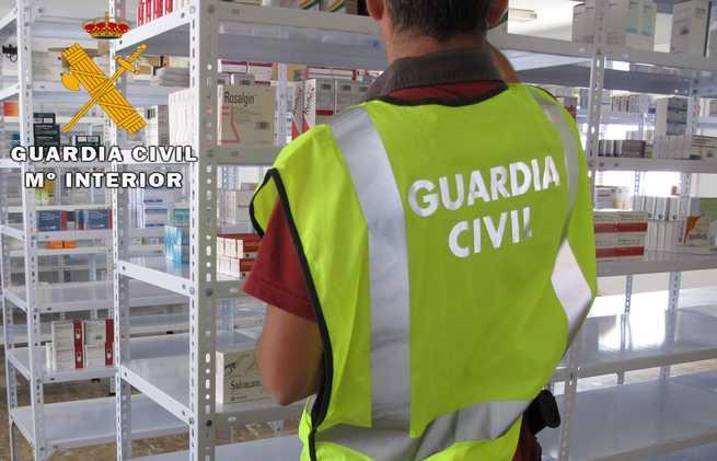 imagen de La Guardia Civil desmantela el mayor entramado de tráfico ilícito de medicamentos para su exportación