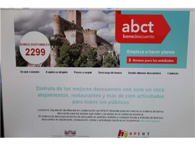 imagen de La Diputación de Albacete ofrece 2.300 bonos con descuentos en hoteles y restaurantes de la provincia