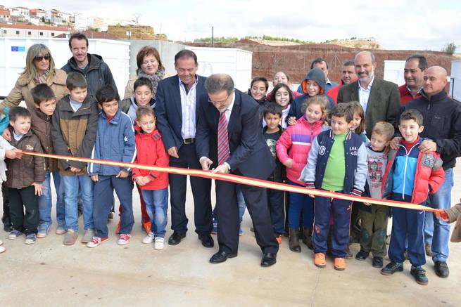imagen de El Presidente de la Diputación de Ciudad Real ha inaugurado dos puntos limpios en Valenzuela y Almedina