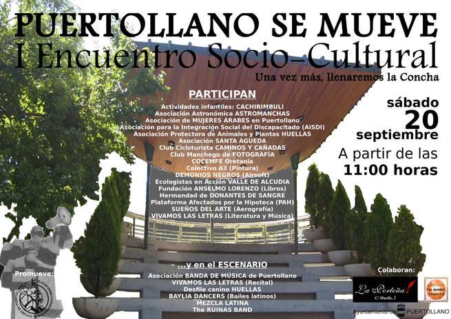 """imagen de  Plataforma Ciudadana por el Futuro de Puertollano ha organizado en la Concha de la Música el evento """"Puertollano se mueve"""""""