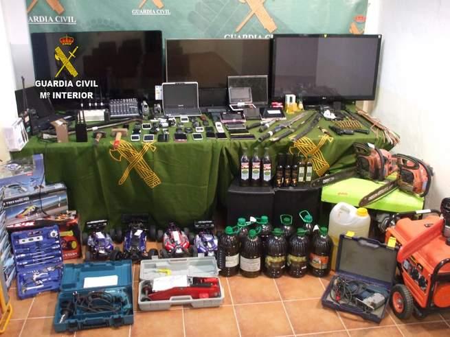 imagen de Gran operación de la Guardia Civil en Castilla-La Mancha