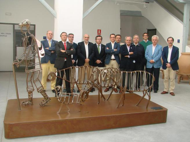 imagen de El Club Rotario de Ciudad Real ha celebrado el tradicional almuerzo-coloquio con el alcalde de Manzanares