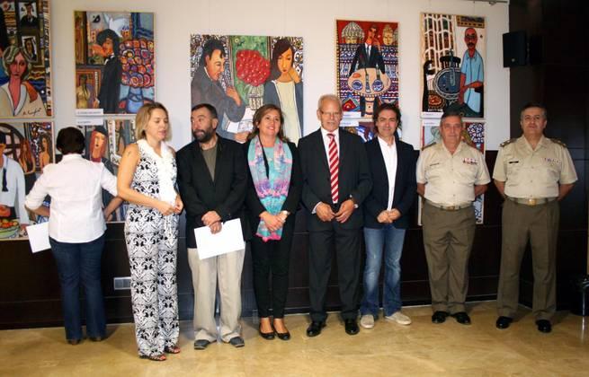 imagen de El Gobierno local considera que la ONCE supera un reto con la exposición pictórica de Antonio Camaró