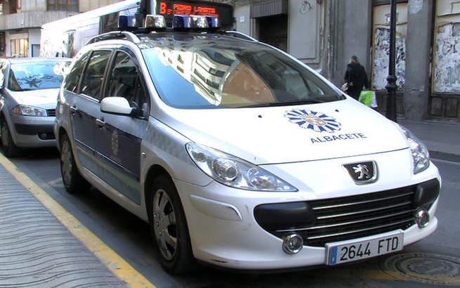 imagen de La Policía Local de Albacete, durante el pasado miércoles, intervino en diez accidentes de tráfico