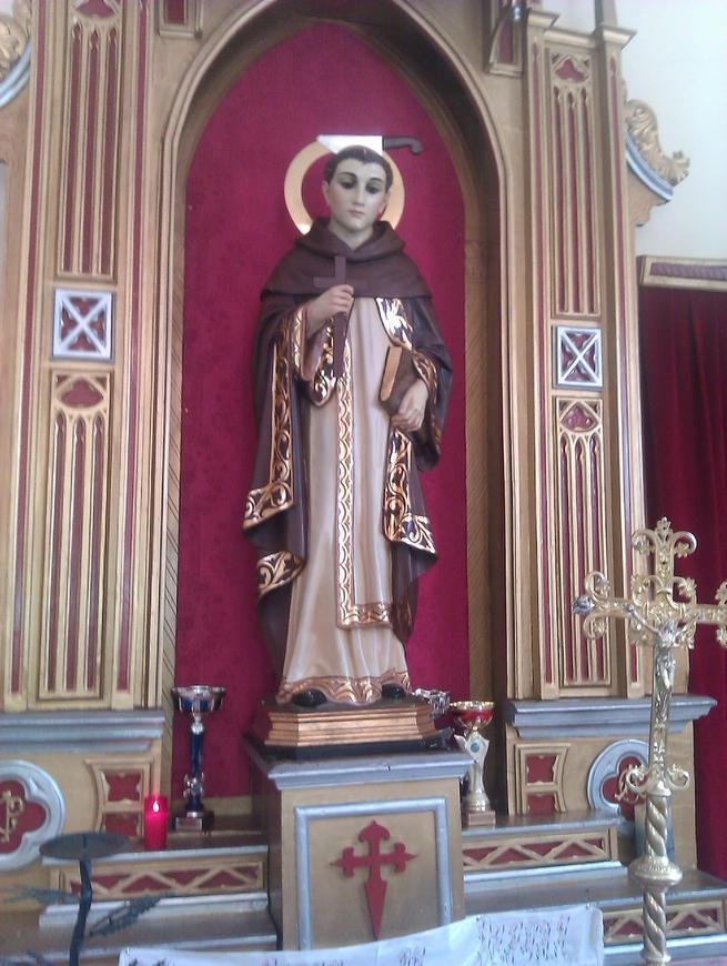 imagen de San Pedro de Verona en Ossa de Montiel