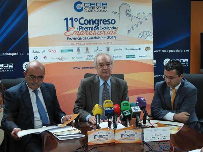 imagen de Agustín de Grandes presenta el 11º Congreso Empresarial y los Premios Excelencia Empresarial 2014