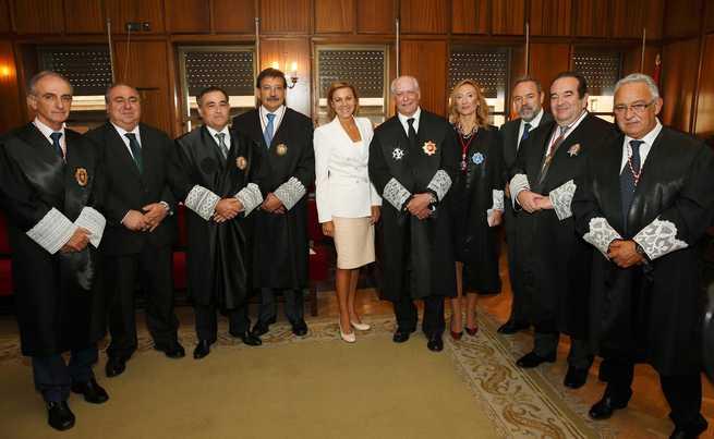 imagen de María Dolores Cospedal asiste al acto de inicio del año judicial en el Tribunal Superior de Justicia de Castilla-La Mancha