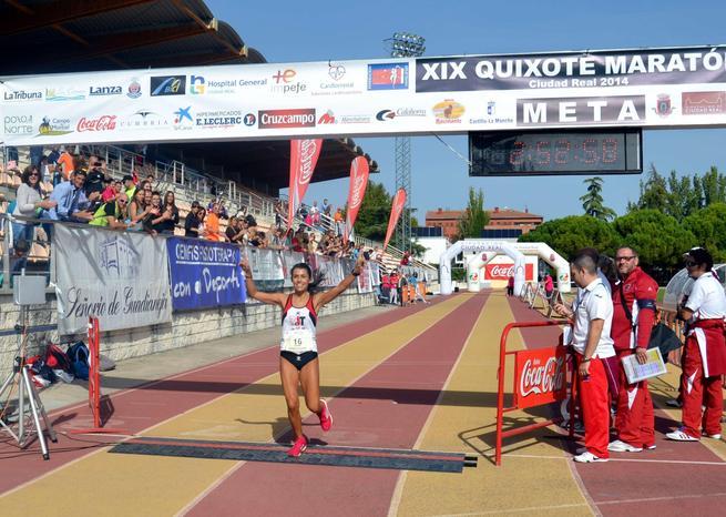 imagen de Profetas en su tierra: los almagreños Jesus Calle y Gema Arenas ganan la 19ª Quixote Maratón de Castilla-La Mancha
