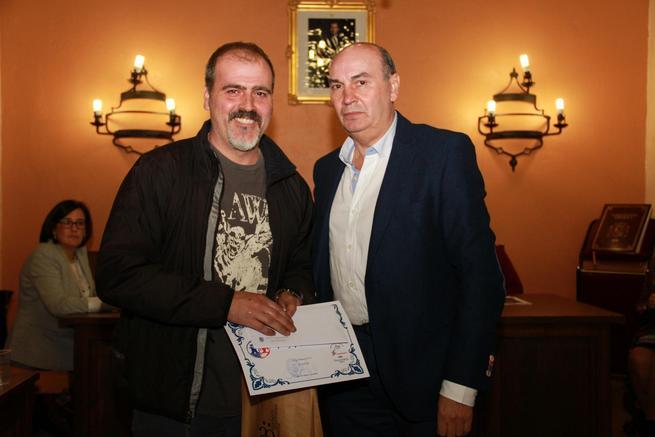 imagen de El toledano Rafael Carrascal gana el XVII Concurso de Pintura Rápida de Sigüenza