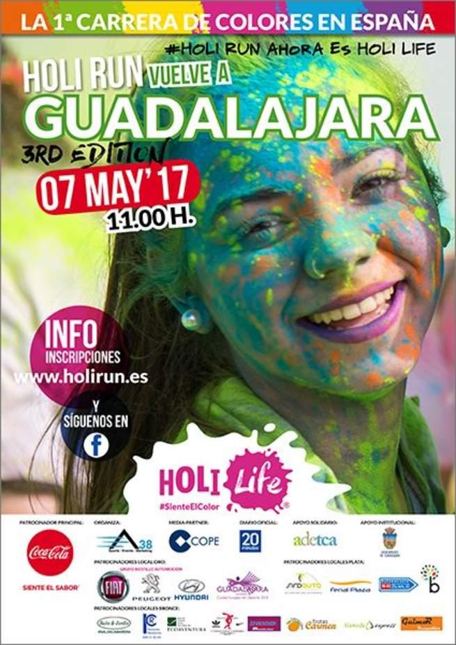 Miles de corredores participarán en la Holi Run Guadalajara 3rd Edition