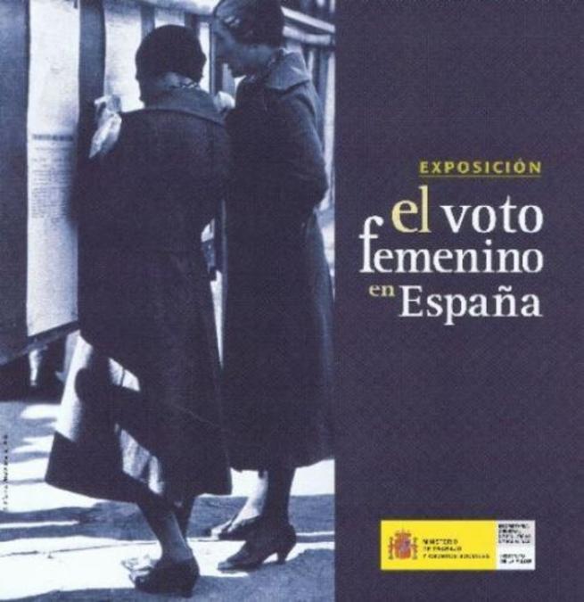 Imagen: Exposición sobre el voto femenino en España