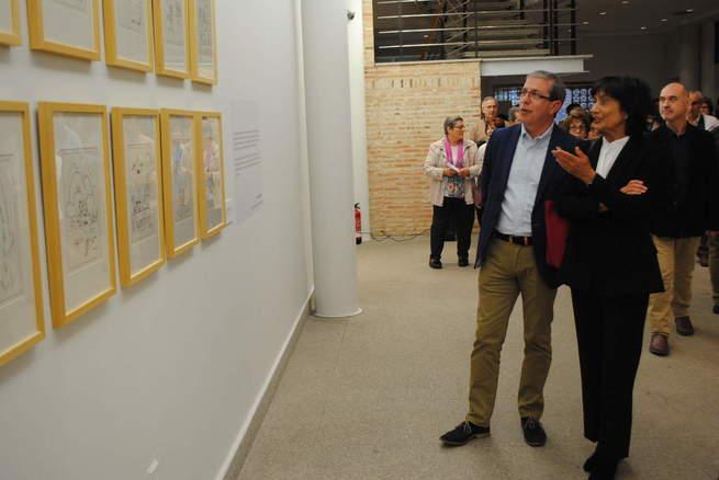 El Museo Municipal de Valdepeñas acoge la exposición 'Patria Común, Delibes Ilustrado'