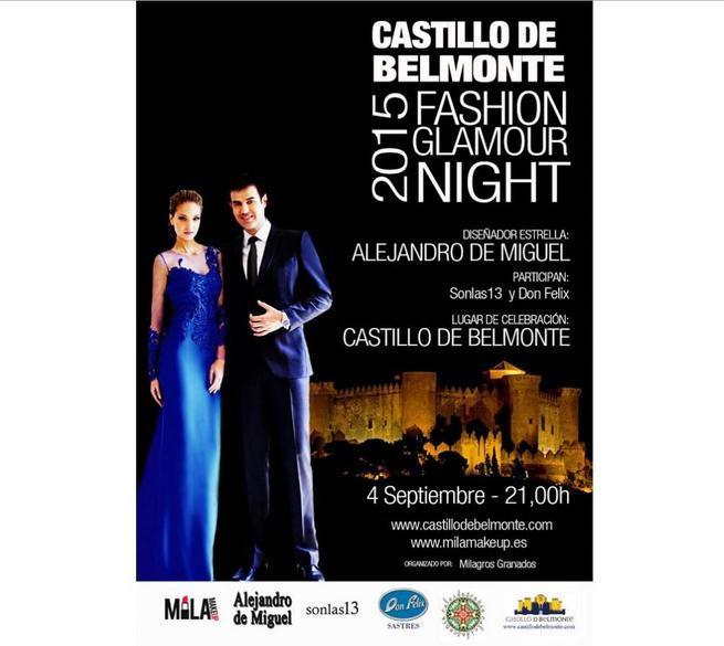 Imagen: Desfile 'Fashion Glamour Night'el el Castillo de Belmonte