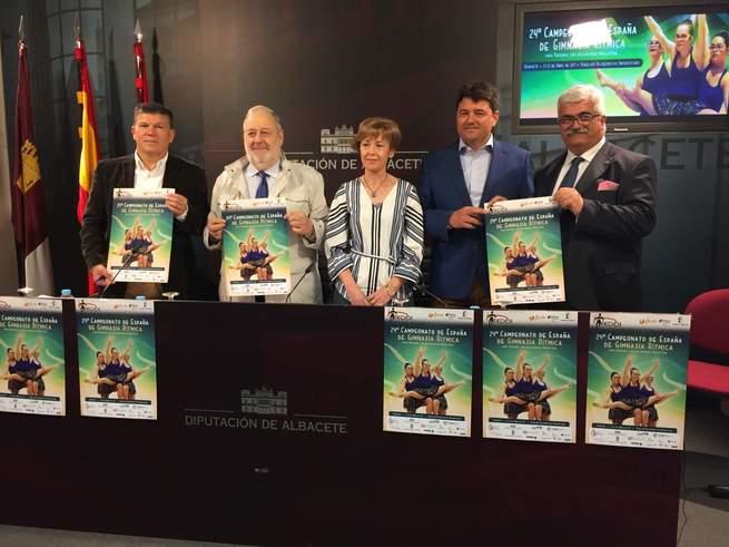 EL Campeonato de España de Gimnasia Rítmica para personas con discapacidad intelectual regresa a Albacete