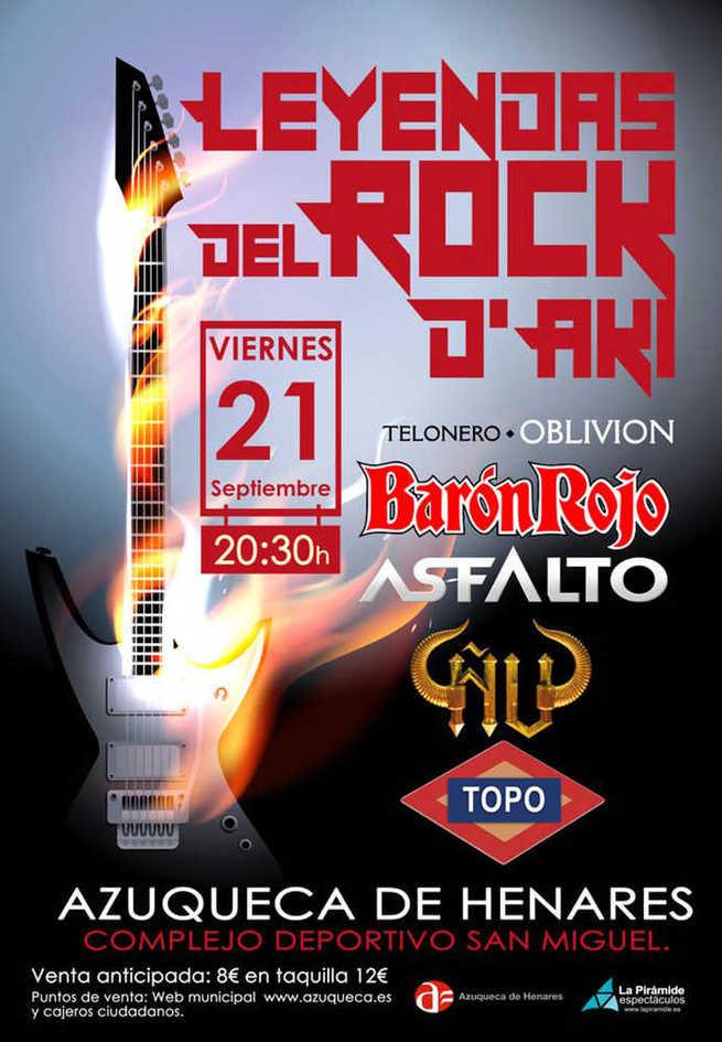 Entradas ya a la venta para el concierto 'Leyendas del Rock D'Akí'