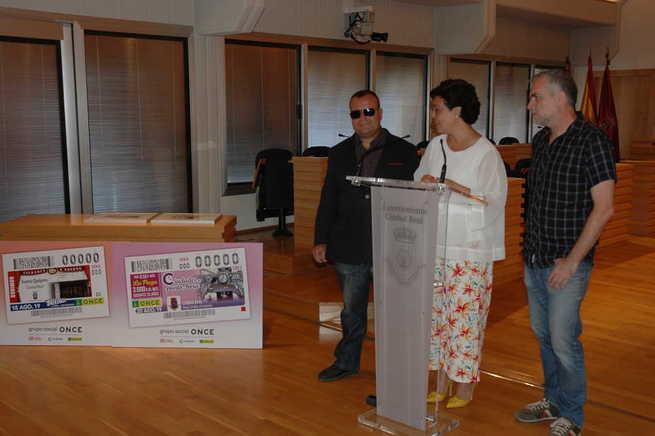 11 millones de cupones de la ONCE lucirán el Teatro Quijano y el Reloj Cervantino de Ciudad Real