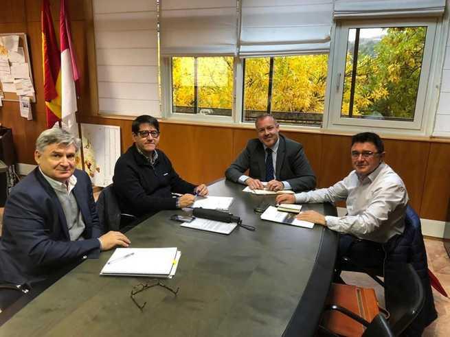 El Gobierno de Castilla-La Mancha y el Ayuntamiento de Toledo conciertan diversas iniciativas en materia de Vivienda y Urbanismo