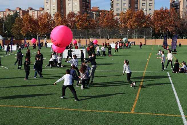 El Gobierno regional contribuye a la alfabetización física con el programa 'Somos Deporte 3-18'