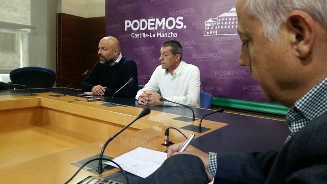 Podemos reanuda sus Ruedas Ciudadanas con los Trabajadores de Seguridad de la Junta, denunciando la precarización de su trabajo