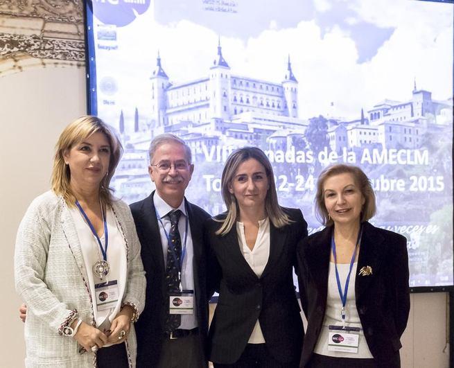 Imagen: La alcaldesa participa en la inauguración de las VIII Jornadas de la Asociación de Medicina Estética de Castilla-La Mancha