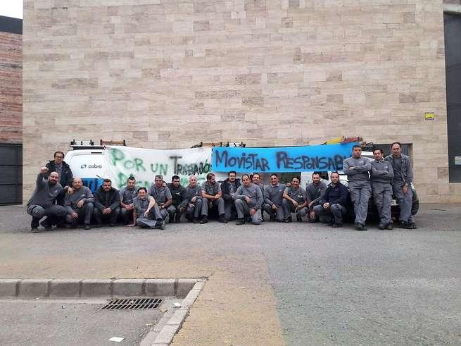 Seguimiento unánime del primer martes de huelga parcial en Cobra-Ciudad Real