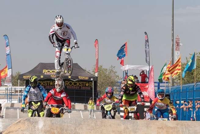 La selección de Castilla-La Mancha BMX, subcampeona de España por comunidades