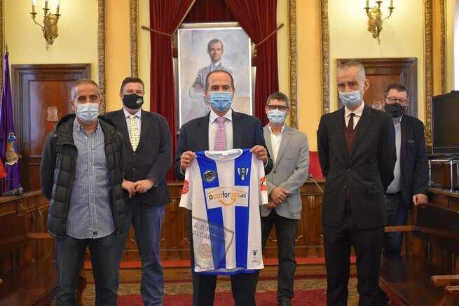 El Ayuntamiento de Guadalajara agradece al Hogar Alcarreño su colaboración con la campaña 'Activa Guadalajara' en favor del comercio local