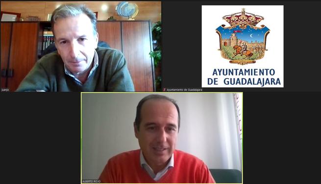 Alberto Rojo y Juan José Laso reafirman el compromiso y la voluntad de colaboración entre APAG y el Ayuntamiento
