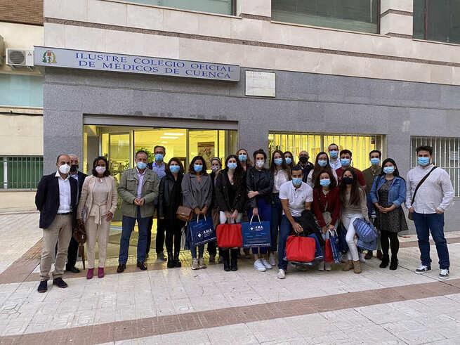 El Colegio de Médicos de Cuenca da la bienvenida a los nuevos residentes